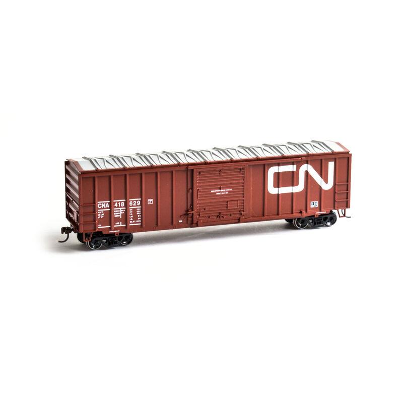 HO 50' ACF Outside Post Box CN #418629