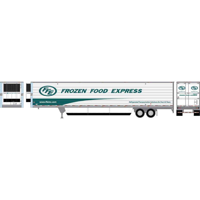 HO RTR 53' Utility Reefer Trailer Frozen Food Exp #765025