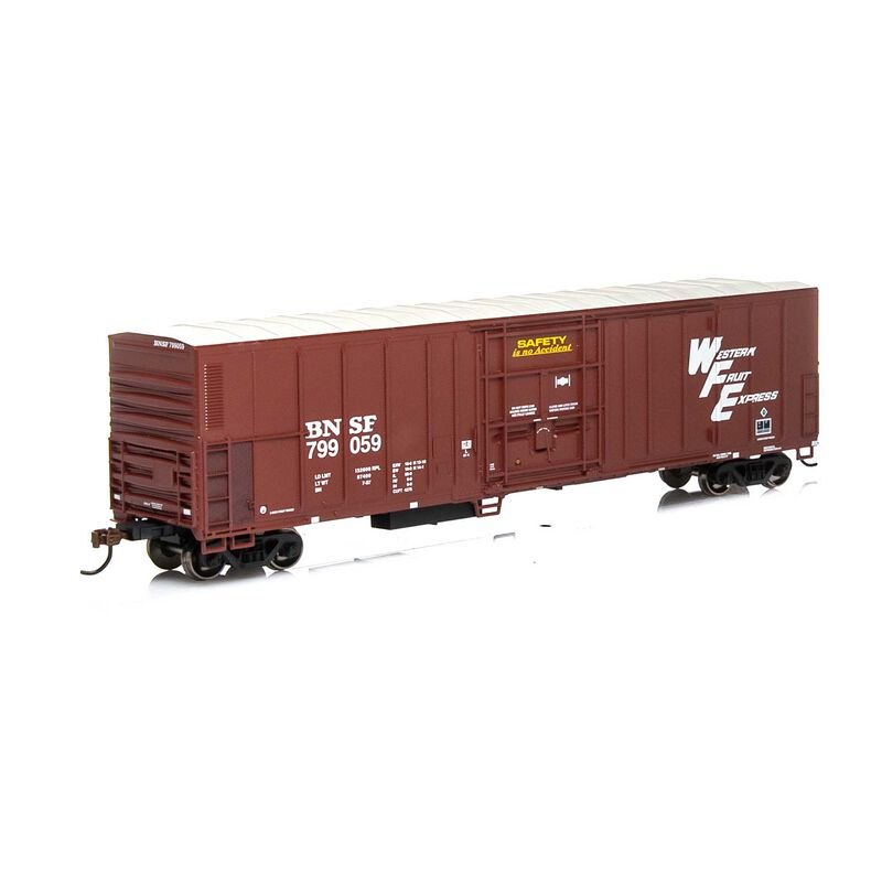 HO RTR 57' PCF Mechanical Reefer BNSF Brown#799059