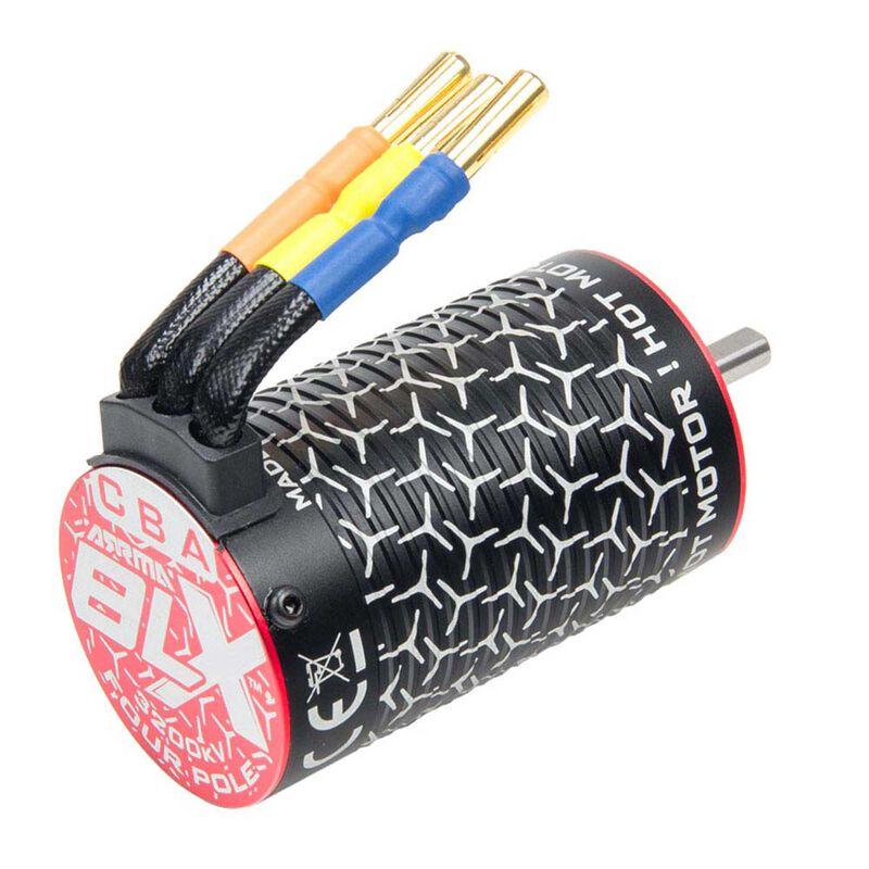 BLX3660 3200kV Brushless 10th 4-Pole Motor: 4x4