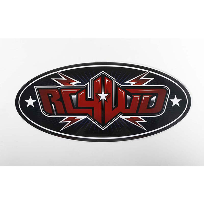 "RC4WD Logo Decal Sheets (10"")"