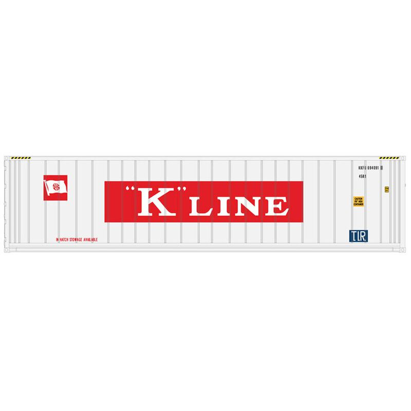 N 40' Refrigerated Container 3PK K-Line Set #2