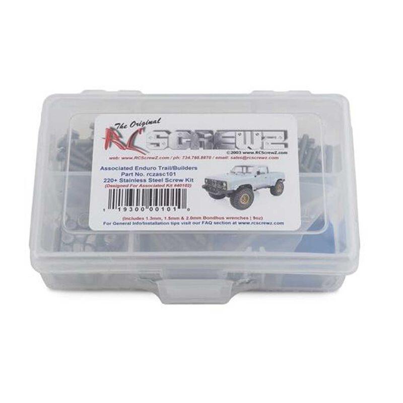 Stainless Steel Screw Kit: Associated Enduro Trail Truck
