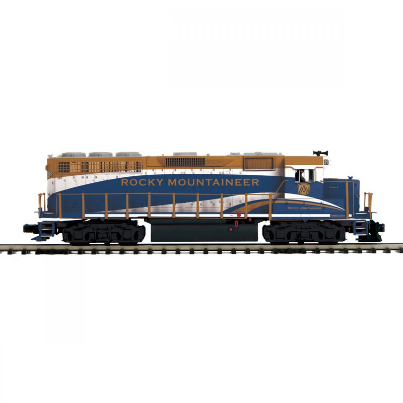 O GP-40 with PS3 & ScaleWheels Rocky Mountaineer #8018
