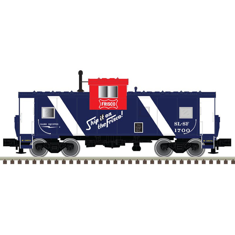 HO Extended Vision Caboose Frisco #1700