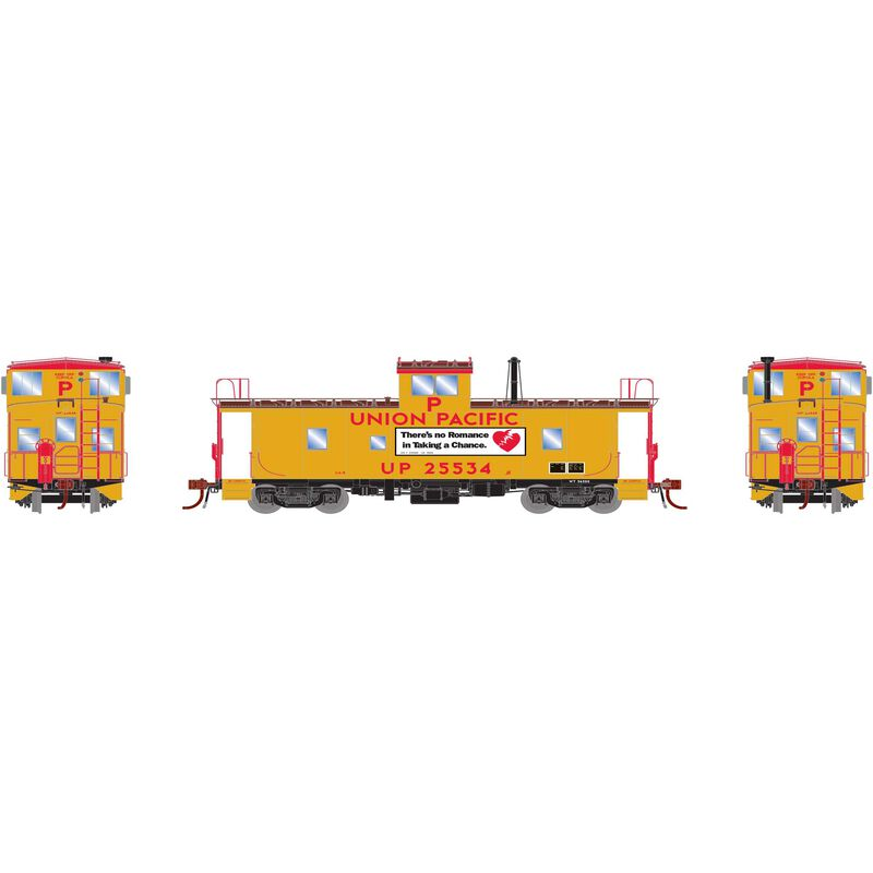 HO ICC Caboose with Lights UP #25534