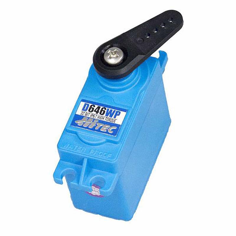 D646WP Standard Digital High Torque Waterproof Metal Gear Servo