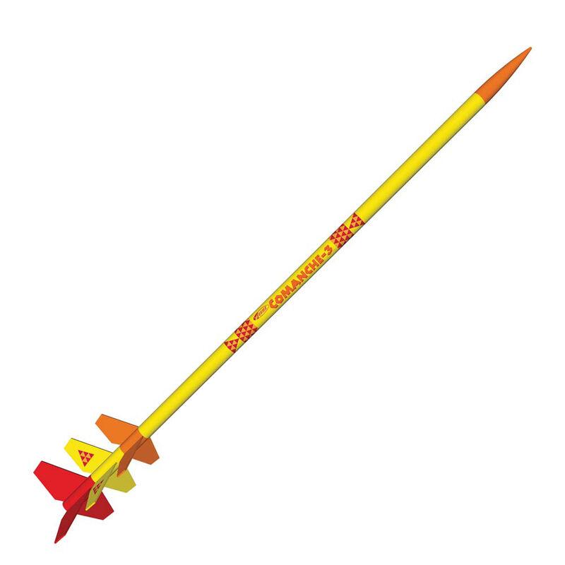 Comanche-3 Rocket Kit Skill Level 3