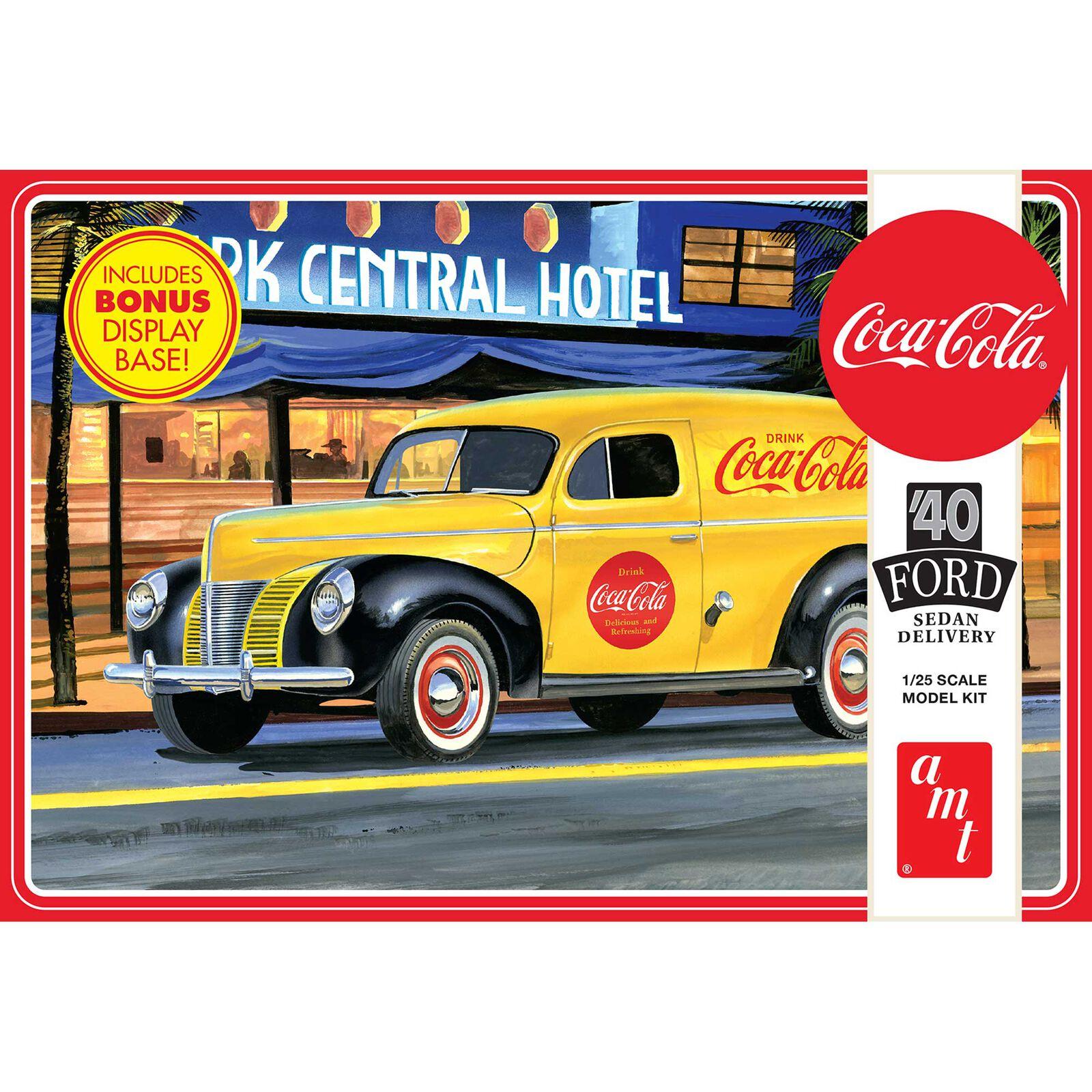1/25 1940 Ford Sedan Delivery Coca-Cola