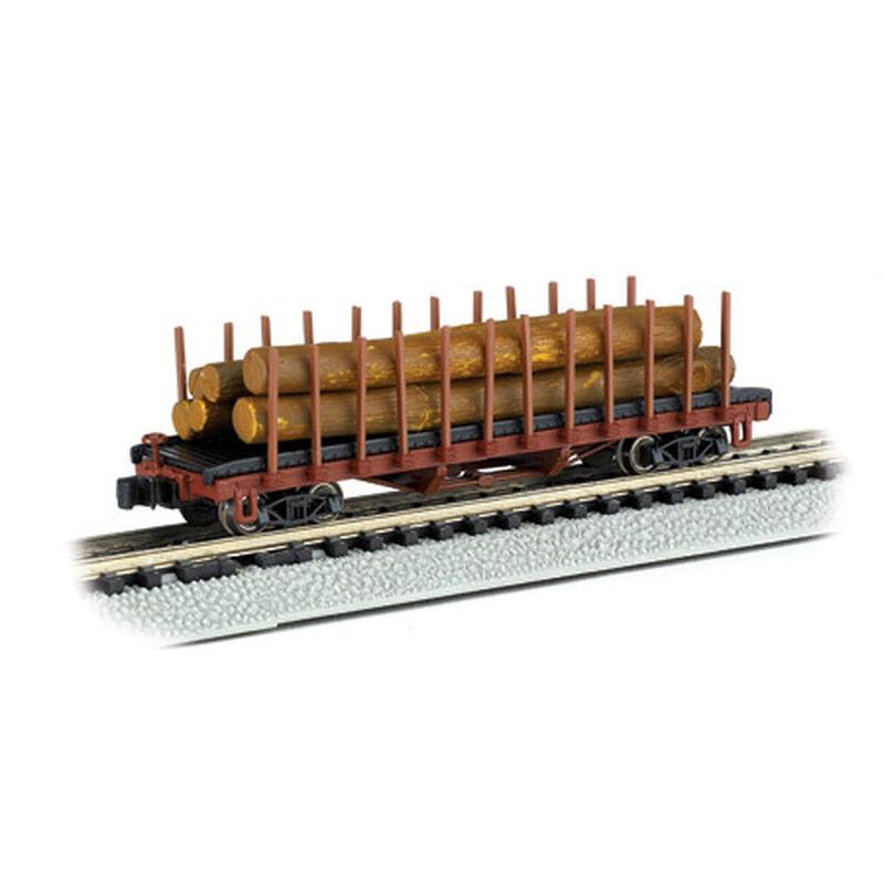 N ACF 40' Log Car, 1906-1935