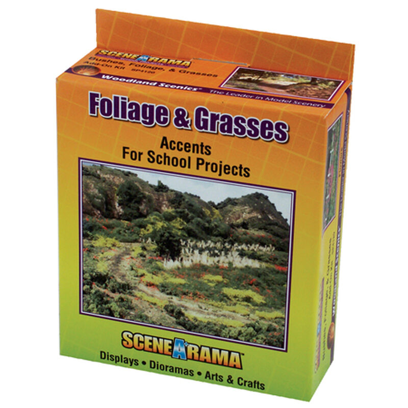 Scene-A-Rama Bushes, Foliage & Grasses Kit