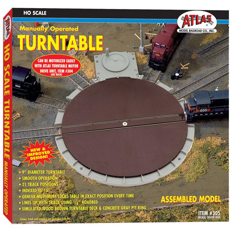 HO Manual Turntable