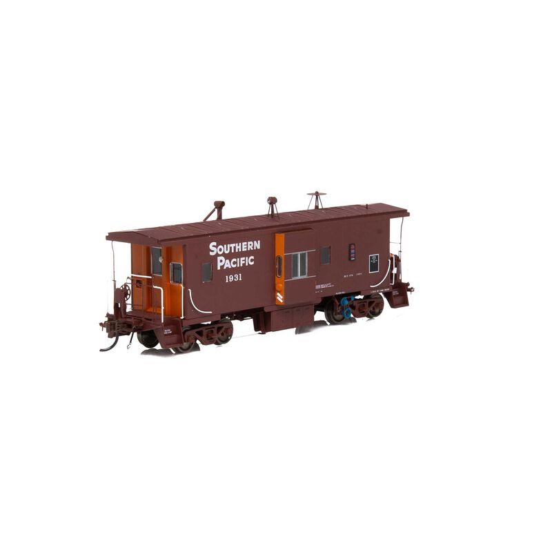 HO ICC Caboose with Lights SP #1931