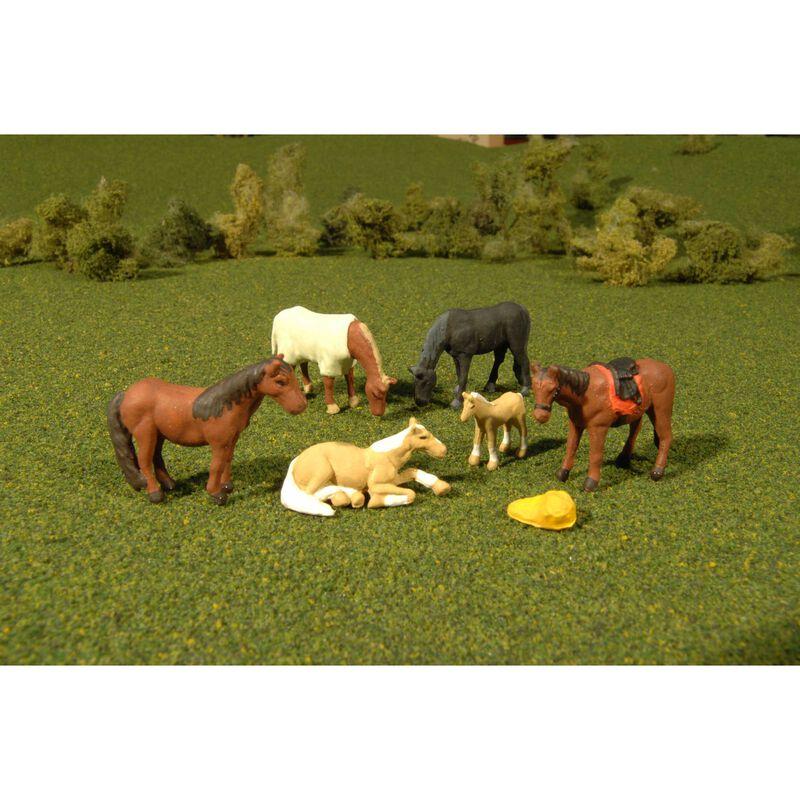 HO Horses (6)