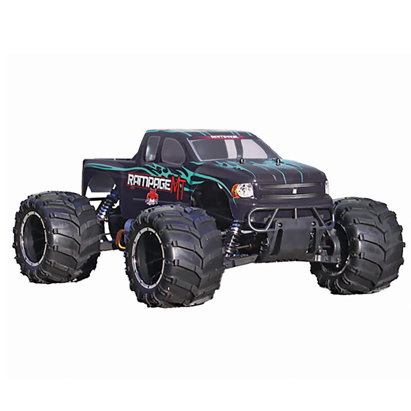 1/5 Rampage MT V3 4WD Gas Monster Truck RTR, Green Flame