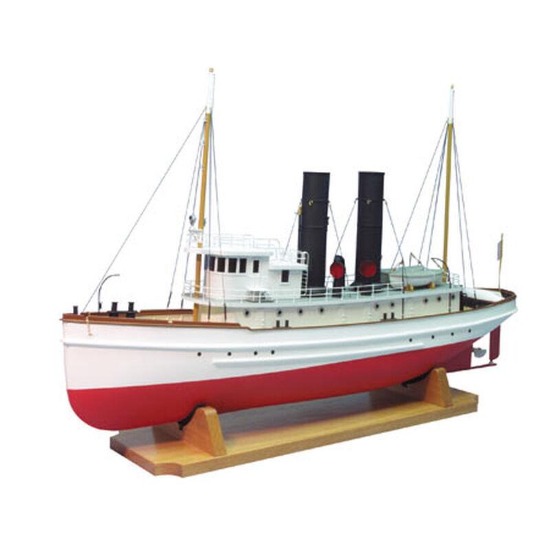 "1/48 1900 The Lackawanna Tug Boat Kit, 33"""
