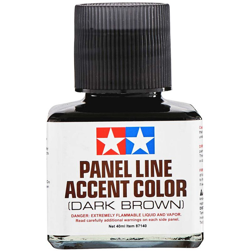 Panel Line Accent Color, 40ml Dark Brown