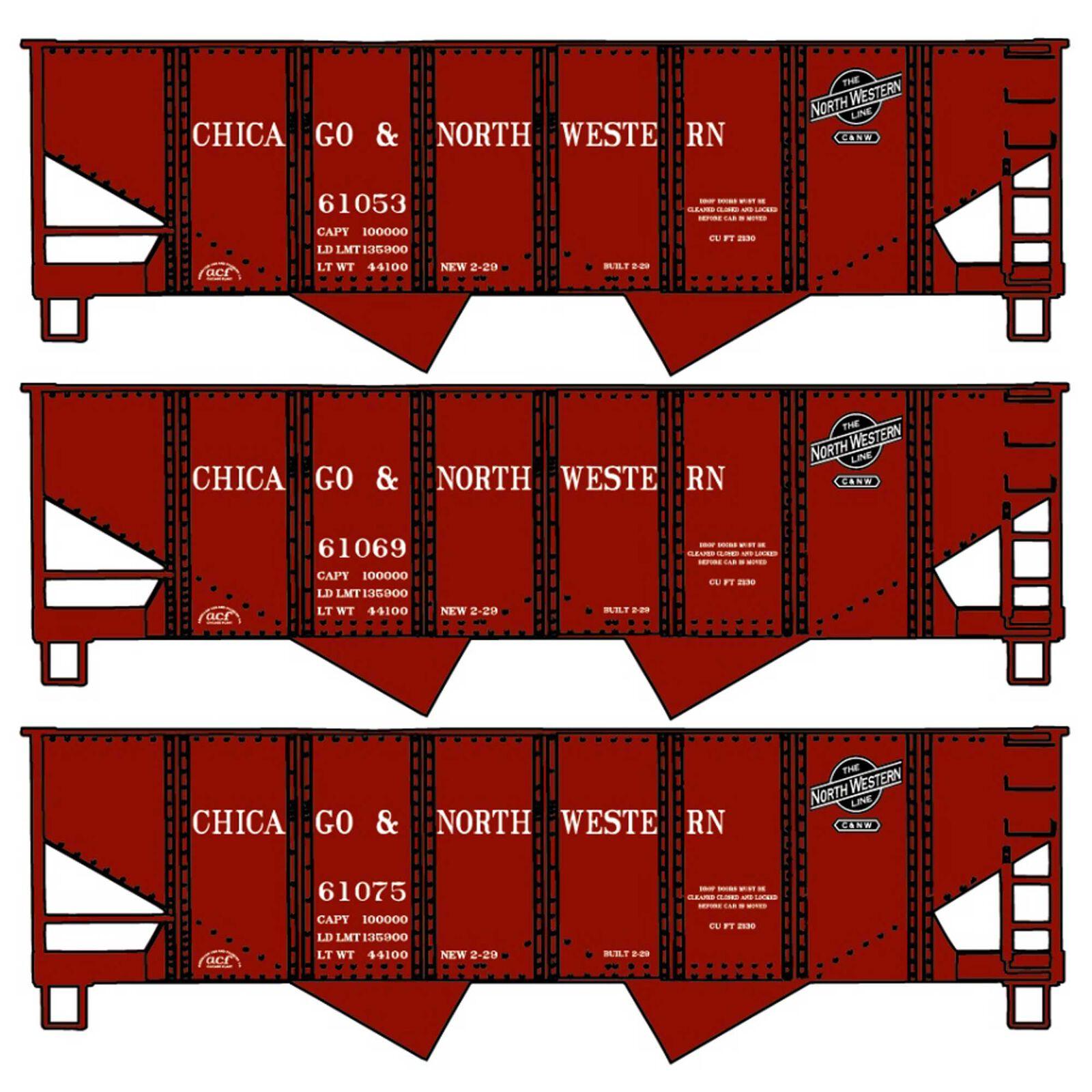 USRA Hopper 3-Car Set HO