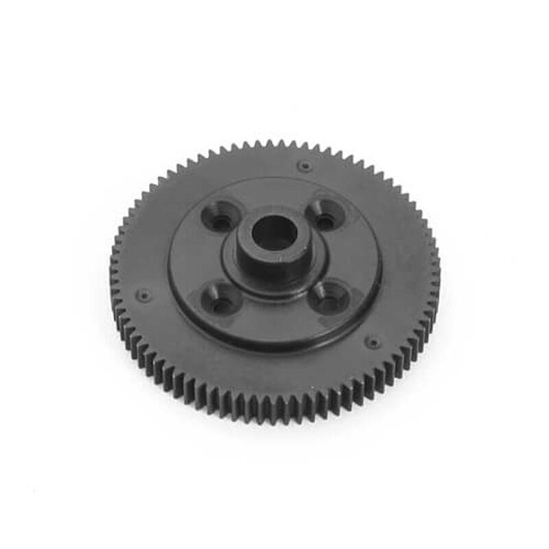 Spur Gear, 81T, 48P,  Composite Black: EB410