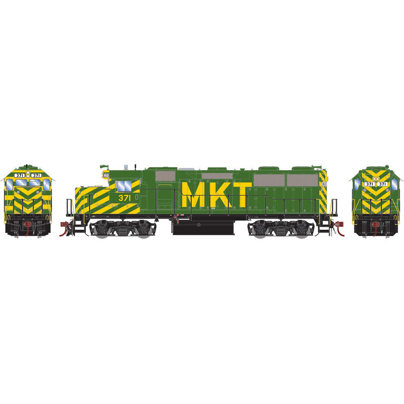 HO GP39-2 with DCC & Sound MKT #371