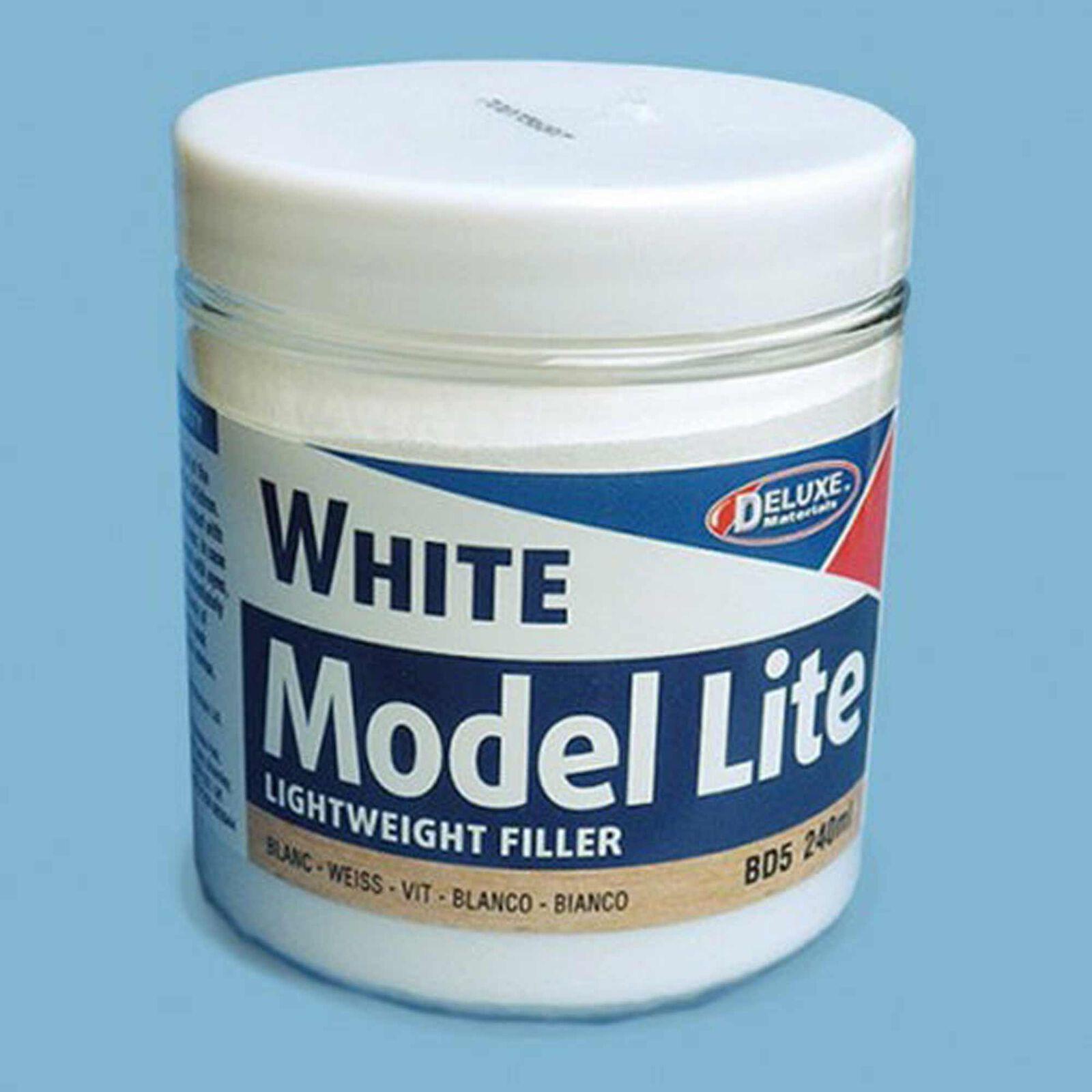 Model Lite Balsa Filler, White: 240cc