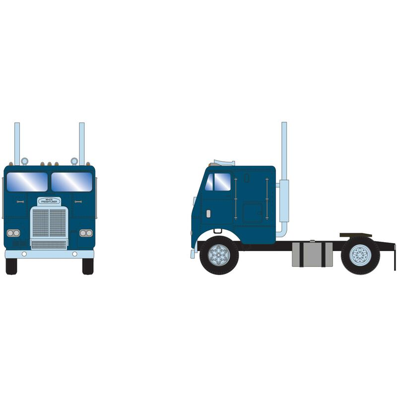 HO RTR FL with 3 Axle Metallic Teal