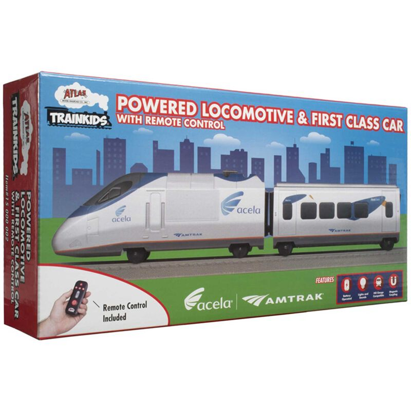 Trainkids Powered Loco & First Class Car with Remote
