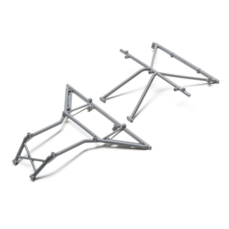 Roll Cage, Roof Front, Gray: Rock Rey