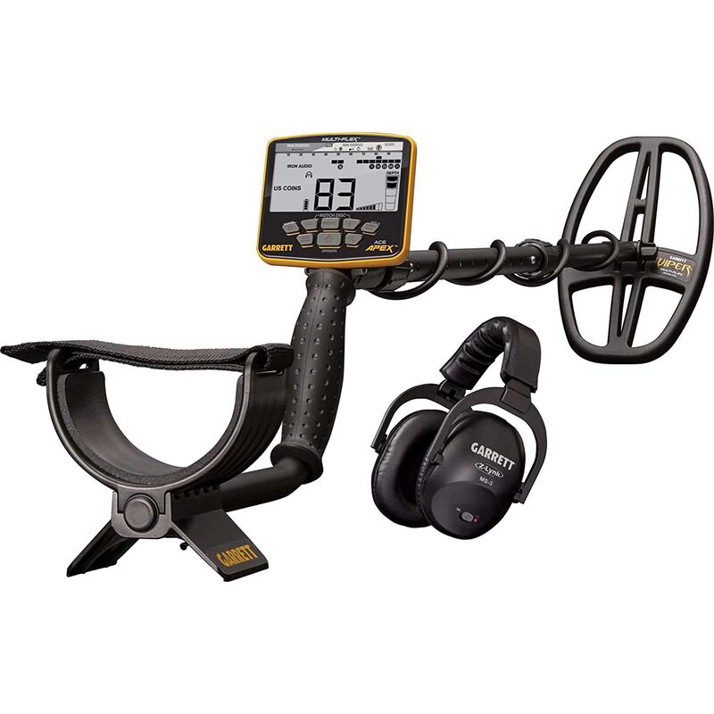 ACE APEX Metal Detector (Wireless Package with Headphones)