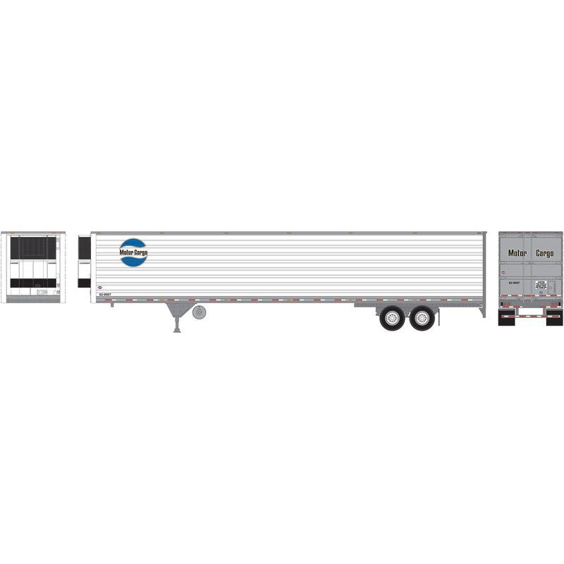 HO RTR 53' Reefer Trailer Motor Cargo #52-0007