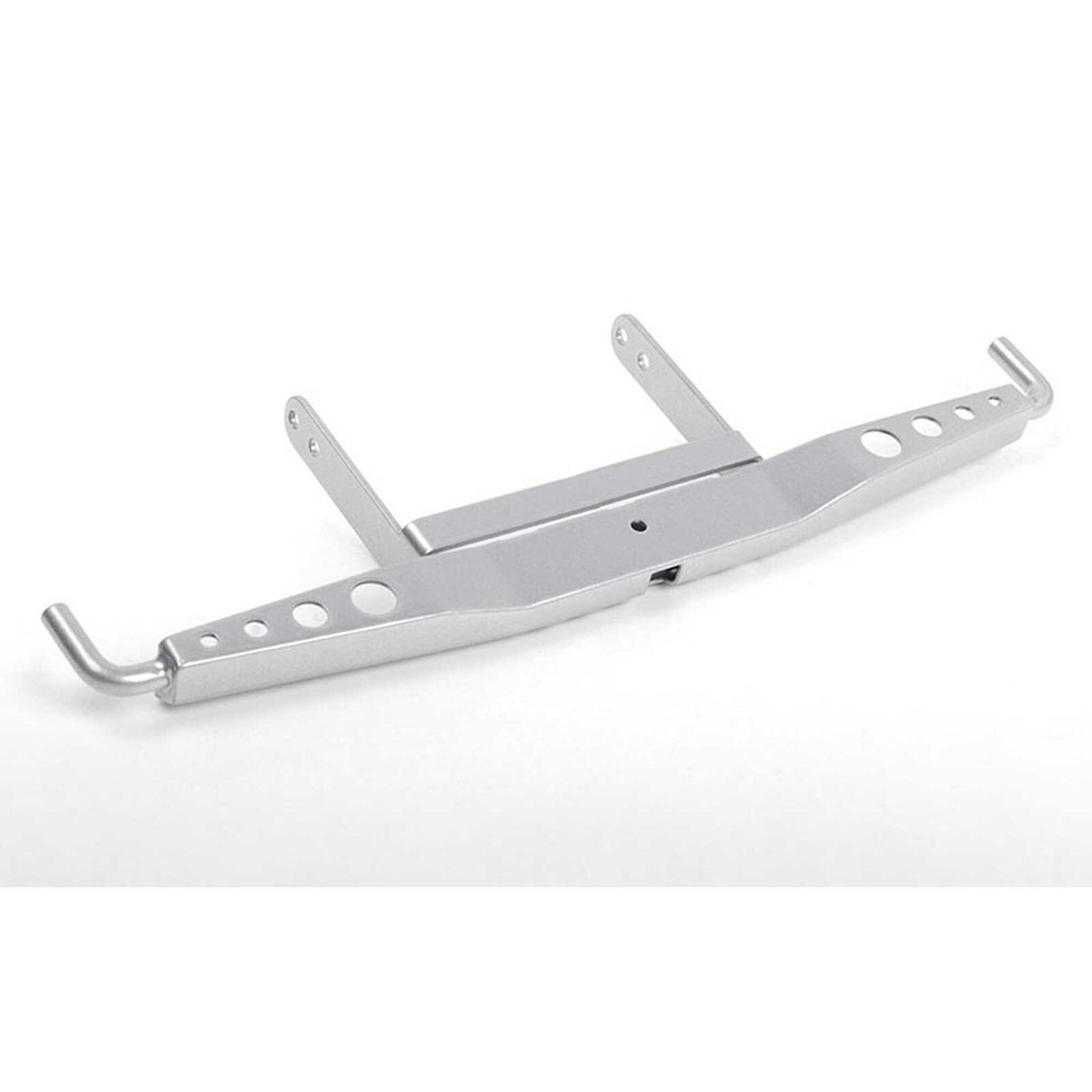 Shirya Steel Rear Bumper for VS4-10 Origin Silver