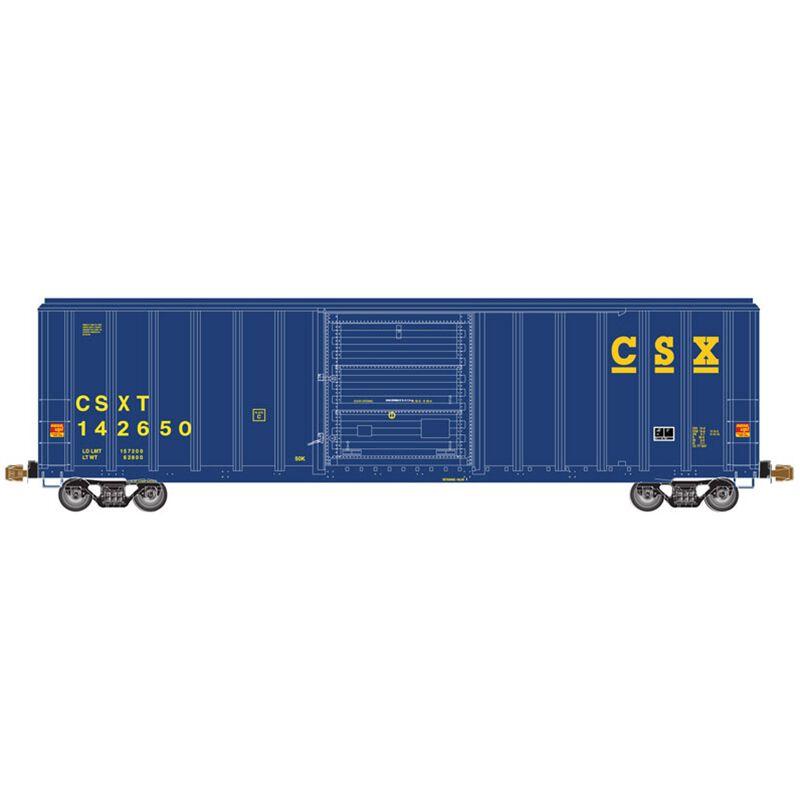 HO FMC 5347 Single Door Box CSX #142650