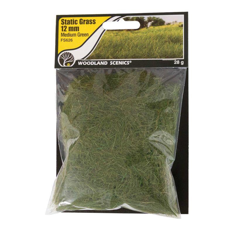 Static Grass Medium Green 12mm