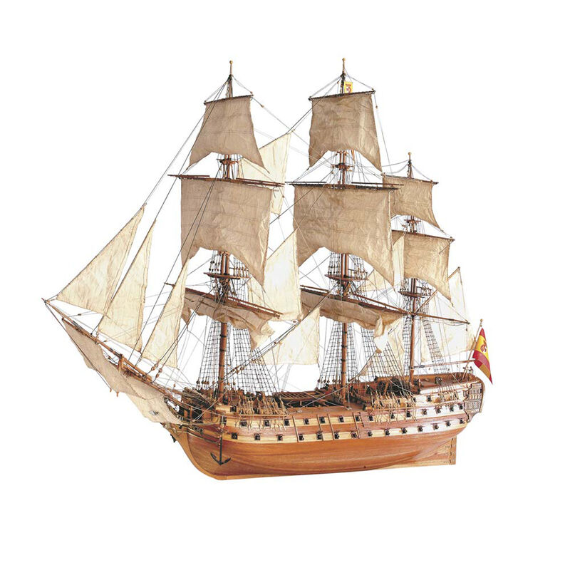 1 90 SJ Nepomuceno Wooden Model Ship Kit