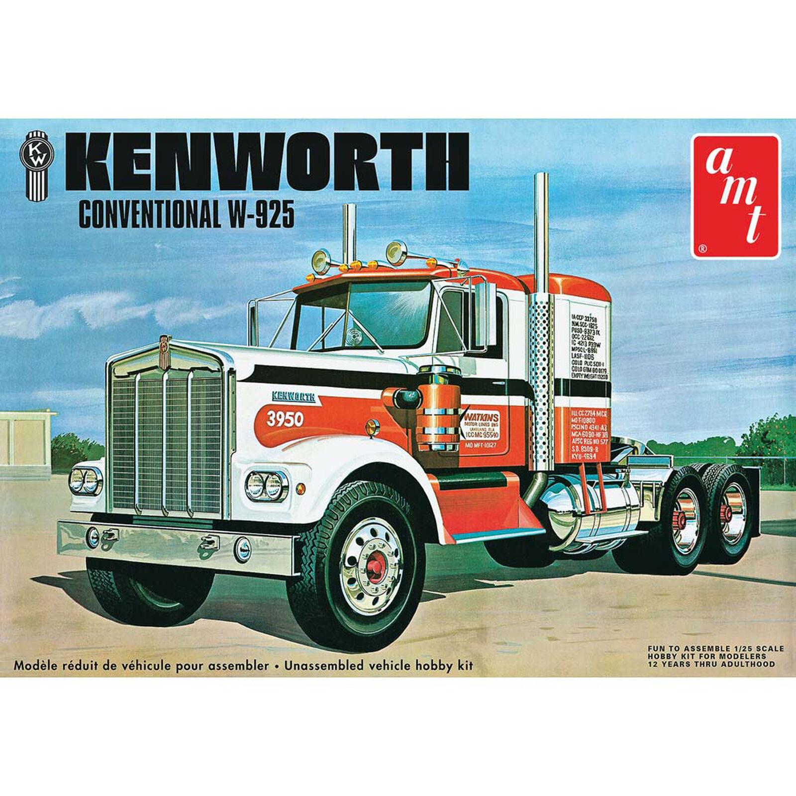 "Kenworth W925 ""Movin' On"" Semi Tractor"