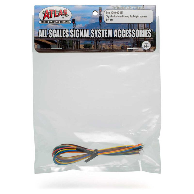 Signal Attachement Cable Dual 4-Pin Harness DIY