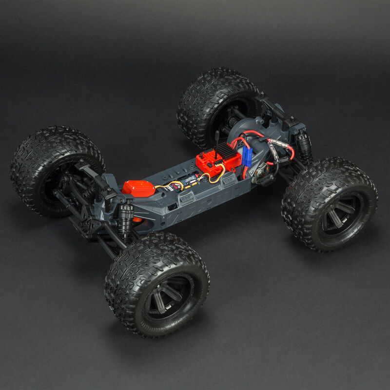 1/10 GRANITE VOLTAGE  2WD Brushed Mega Monster Truck RTR, Blue/Black