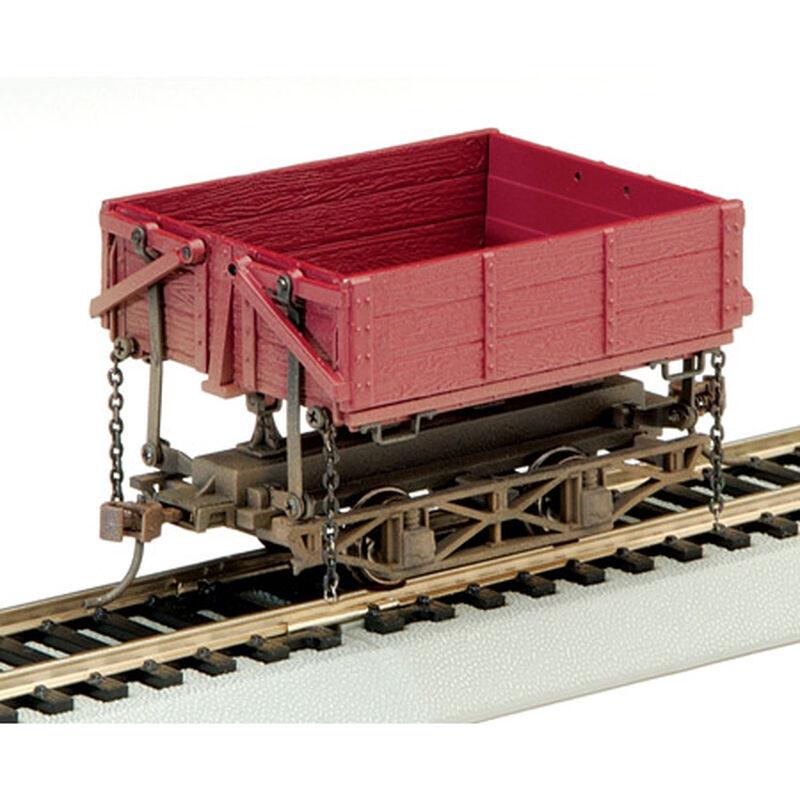 On30 Spectrum Wood Side Dump Car, Red (3)
