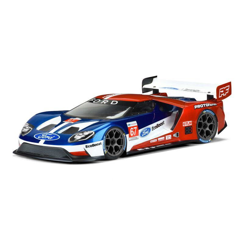 Clear Body, Ford GT Light Weight: 1/10 190mm Touring Cars