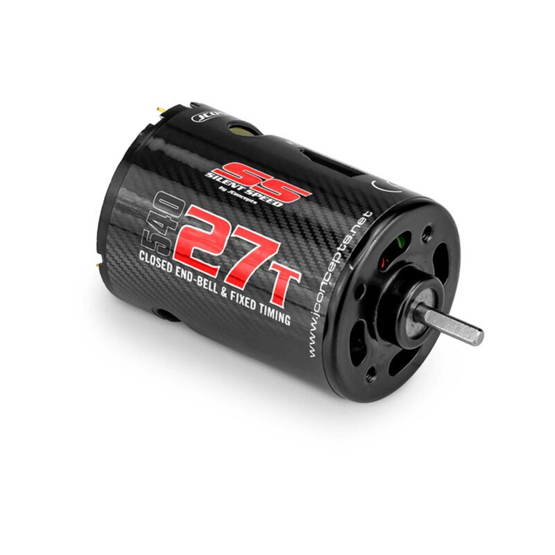 Silent Speed 27T Brushed Fixed End Bell Competition Motor