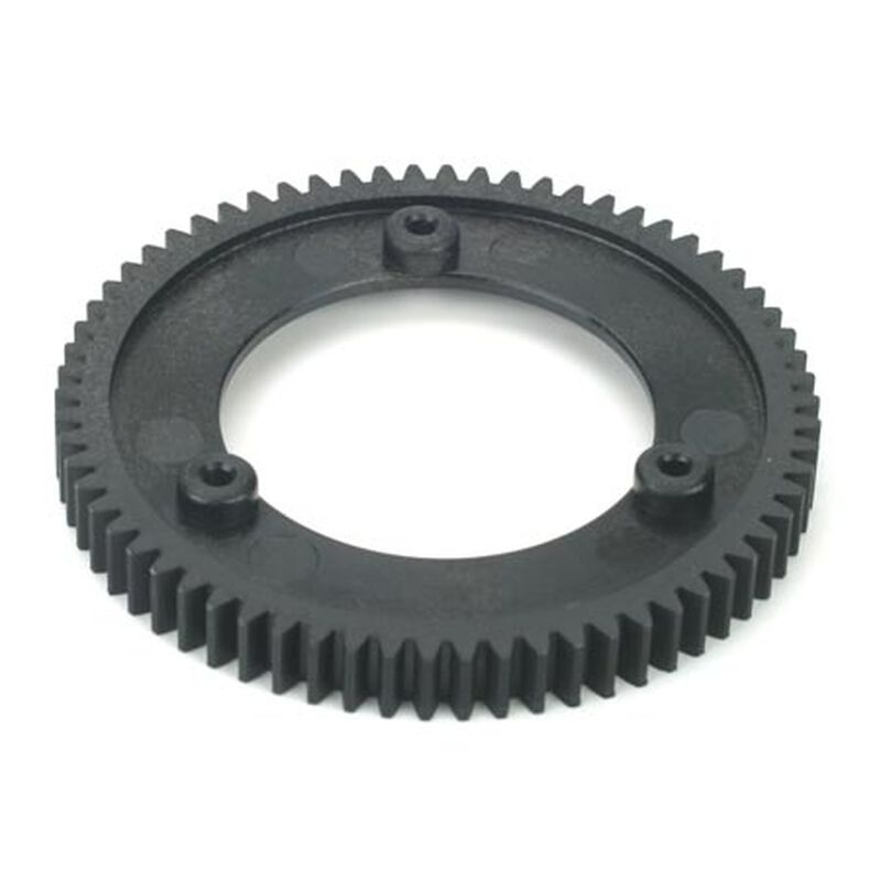 66T Spur Gear-Use with 22T Pinion: LST/2, XXL/2