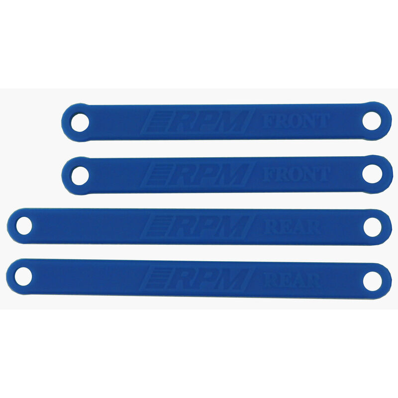 Camber Links, Blue: Electric Stampede, Ruster
