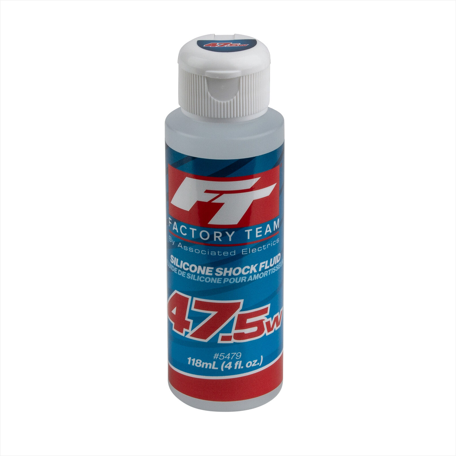 FT Silicone Shock Fluid, 47.5wt (613 cSt)