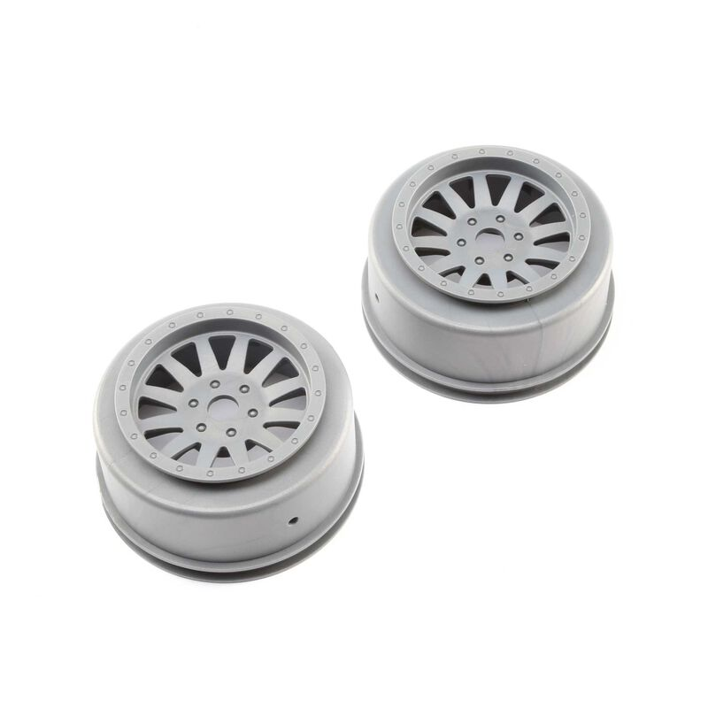 Wheels, Silver (2): Super Baja Rey