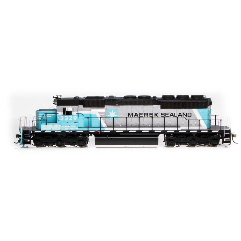 HO RTR SD40-2 w DCC & Sound NS Maersk #3329