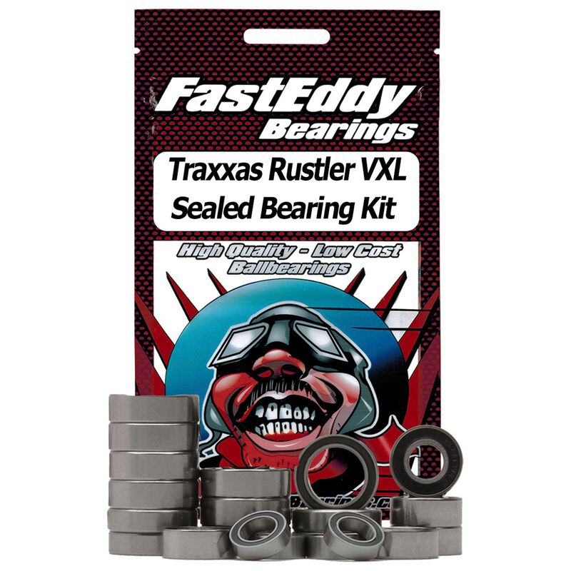 Sealed Bearing Kit: Traxxas Rustler VXL