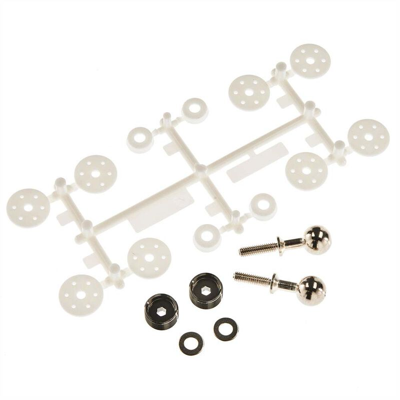 Pivot Ball Hardware and Shock Pistons: PRO-MT 4X4