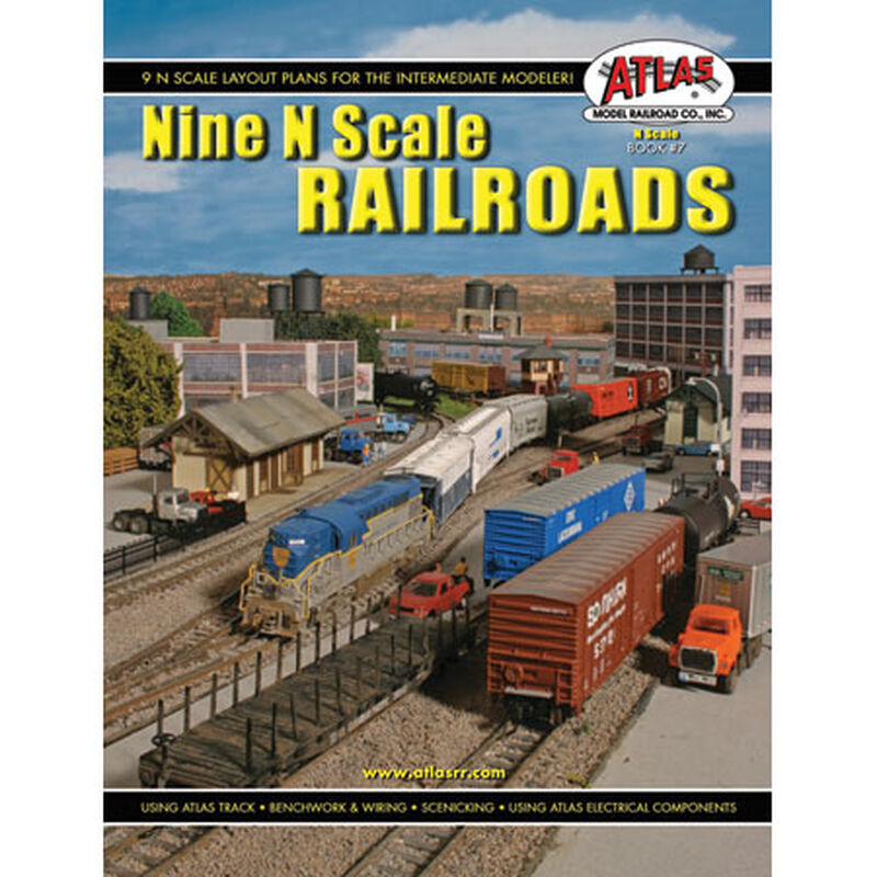 Nine N Scale Railroads