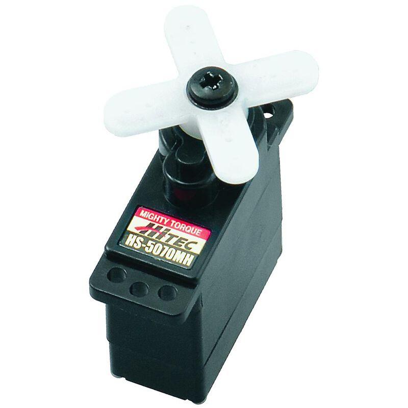 HS-5070MH Micro Digital HV Ultra Torque Metal Gear Feather Servo