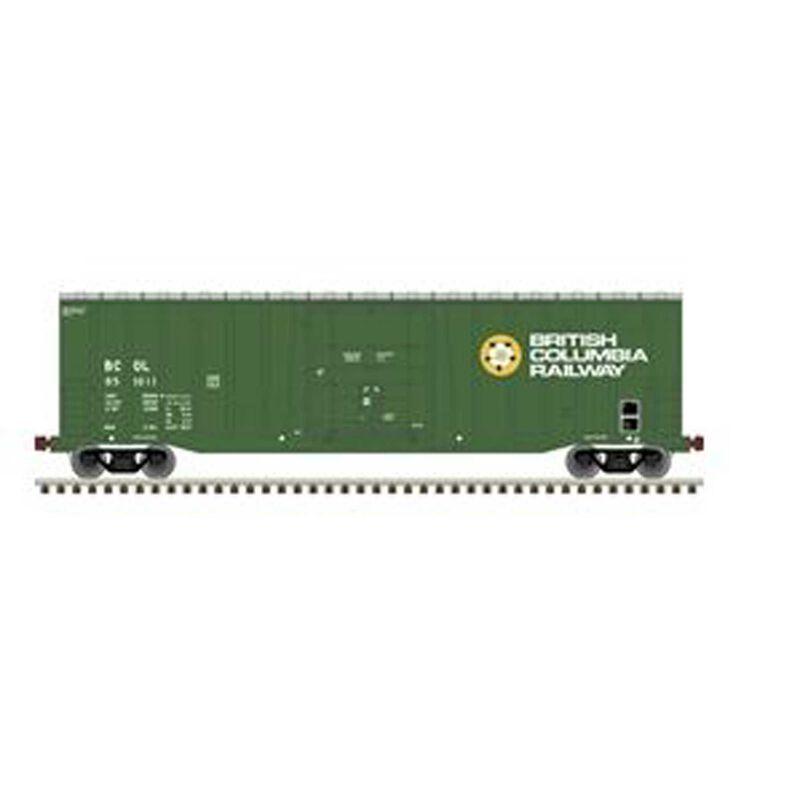 HO NSC 50' 5277 Plugdoor Boxcar BC Railway #851012